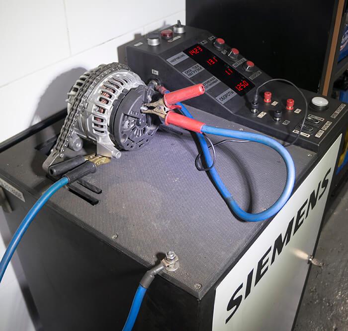 Тестирование обновленного агрегата
